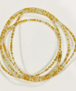 gold brilliance waist beads