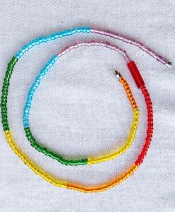 chakra waist beads