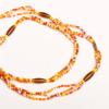 red maasai african waist beads