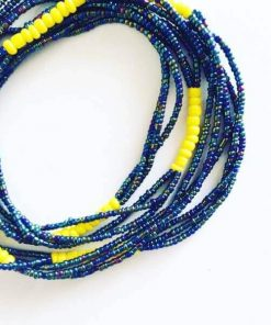 melanin brilliance african waist beads