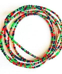 kwanzaa african waist beads