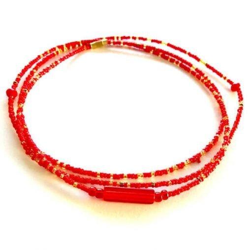 Aries Zodiac Waist Beads