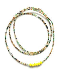 taurus zodiac waist beads