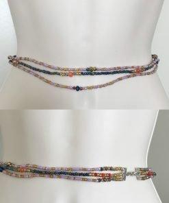 zuri love african waist beads
