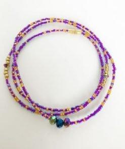 Sagittarius zodiac waist beads