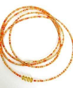 Leo Zodiac Waist Beads