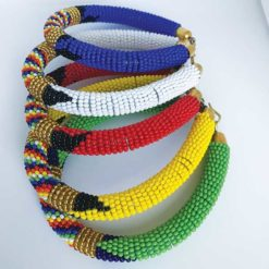 African Savanna Beaded Bracelet