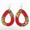Red Maasai Earrings