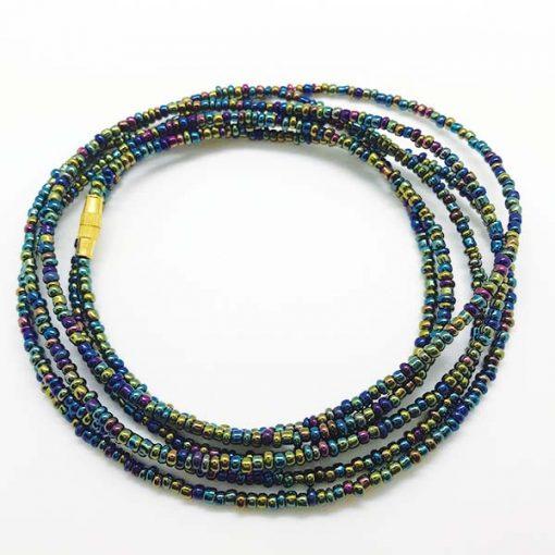 Galaxy African Waist Beads
