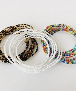 African waist beads set