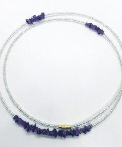 Amethyst Waist Beads